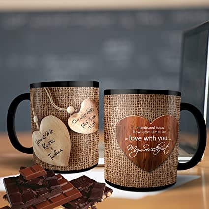 buy printpops personalized ceramic coffee mug and