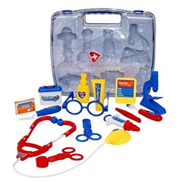 2ec122f19 Children's Kids Role Play Doctor Nurses Toy Set Medical Kit: Amazon ...