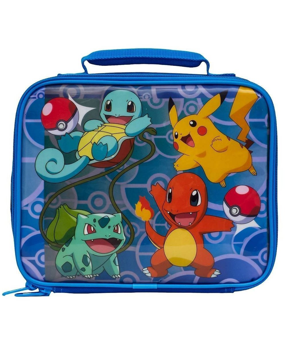 Pokemon Soft Lunch Box (Pokemon Blue)