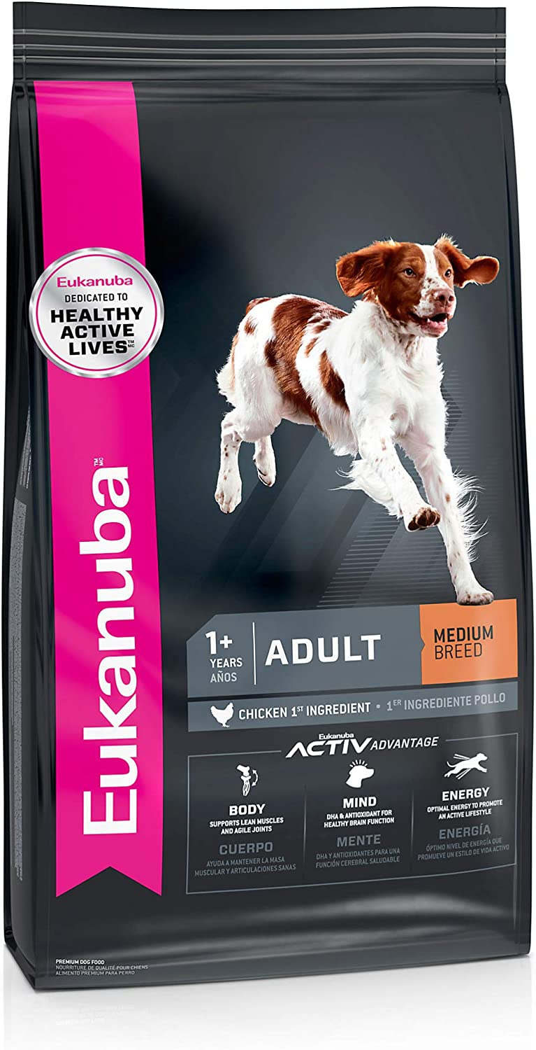 Eukanuba Adult Medium Breed Dry Dog Food