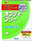 日本アルコン オプティ・フリー 洗浄・消毒・保存液(ソフト用) 360mLx2本パック 【医薬部外品】