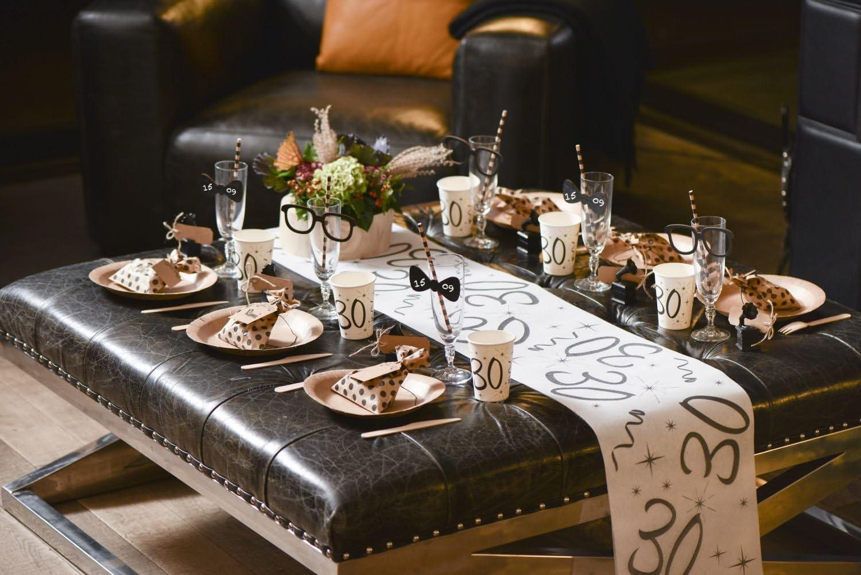 Tischläufer Tischband Vlies 18 rosegold 5mx30cm Tisch Geburtstagsdeko Party