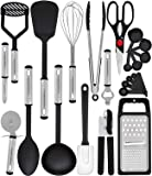 Home Hero Kitchen Utensil Set - 23 Nylon Cooking Utensils - Kitchen Utensils with Spatula - Kitchen Gadgets Cookware Set…