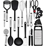 Home Hero Kitchen Utensil Set - 23 Nylon Cooking Utensils - Kitchen Utensils with Spatula - Kitchen Gadgets Cookware Set - Ki