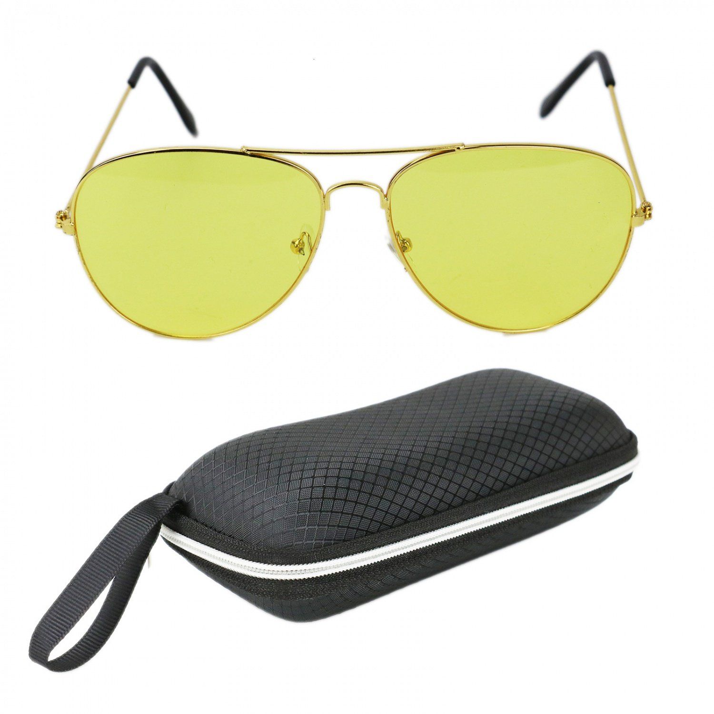 f1e7f9dcc7b Amazon.com  HUELE Night Vision Retro Polarized Clip-on Flip-up Plastic  Sunglasses in Driving Traveling for Men Women  Sports   Outdoors