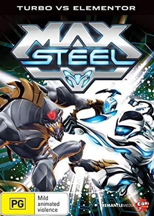 Max Steel Turbo vs Elementor | NON-USA Format | PAL | Region 4 Import