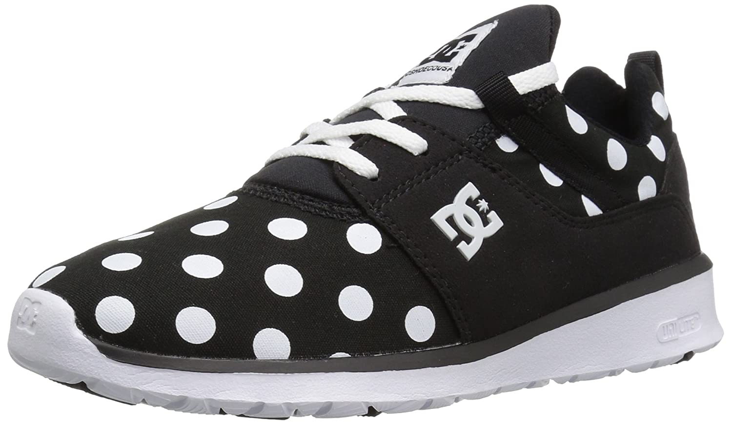 DC Women's Heathrow SE Skate Shoe B01H19K7DW 5.5 B(M) US|Black/White Print