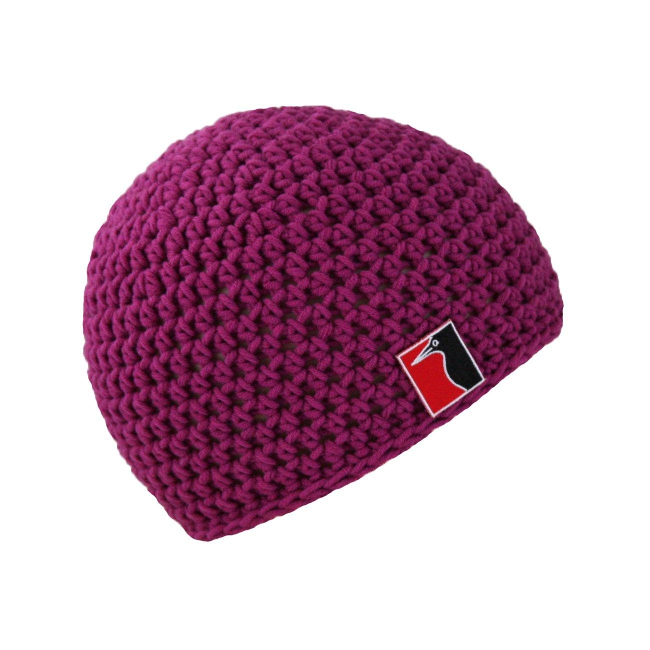 Farbe violett Sommerm/ütze leicht und atmungsaktiv one size Wooly Woodpecker H/äkelm/ütze