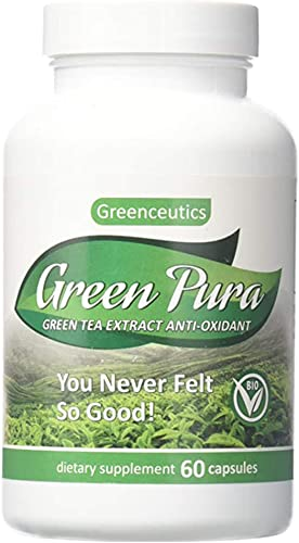 Green Tea Extract Diet Pill for Weight Loss, Fat Burn, Increased Metabolism, Antioxidant 60 Capsules
