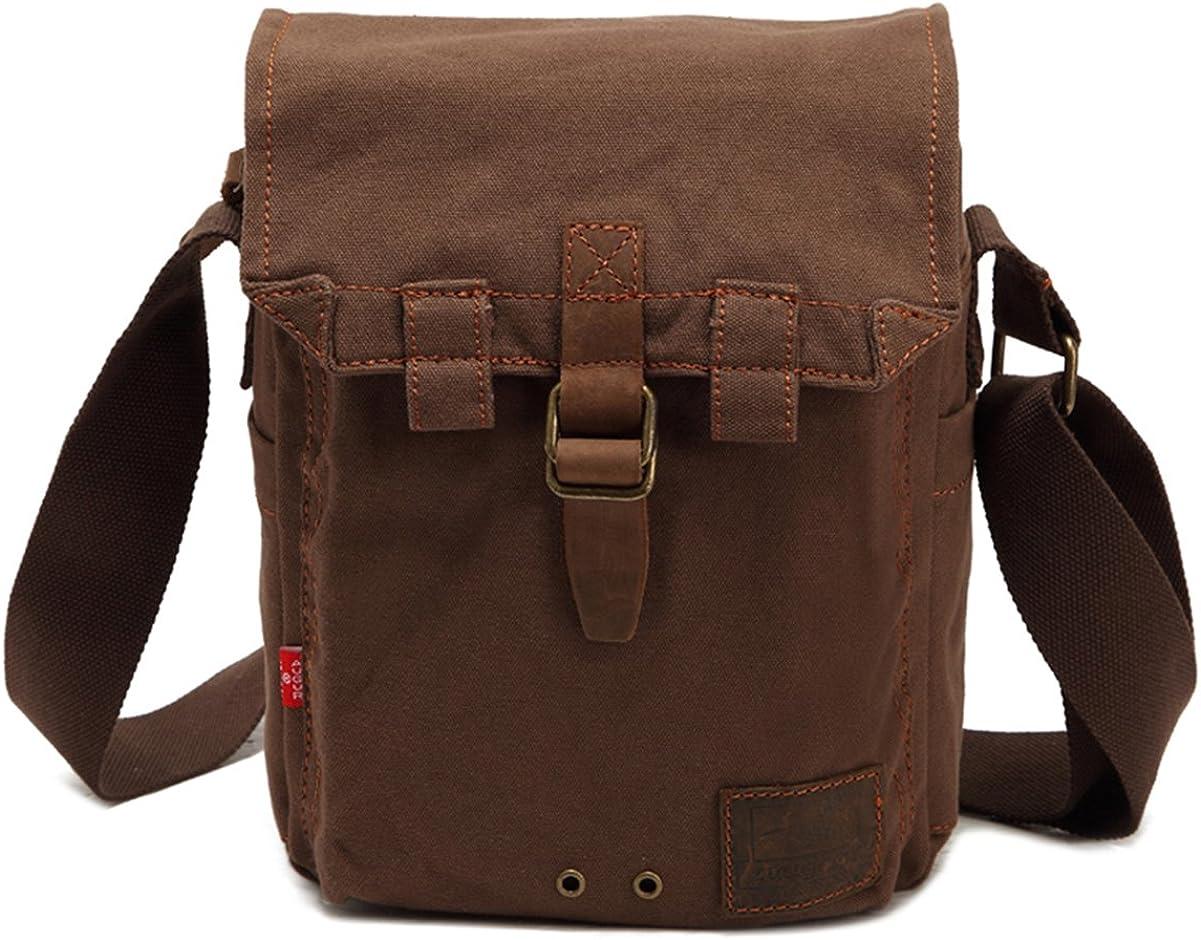 Genda 2Archer Super Hot Canvas Messenger Bag Hiking Traveling Satchel