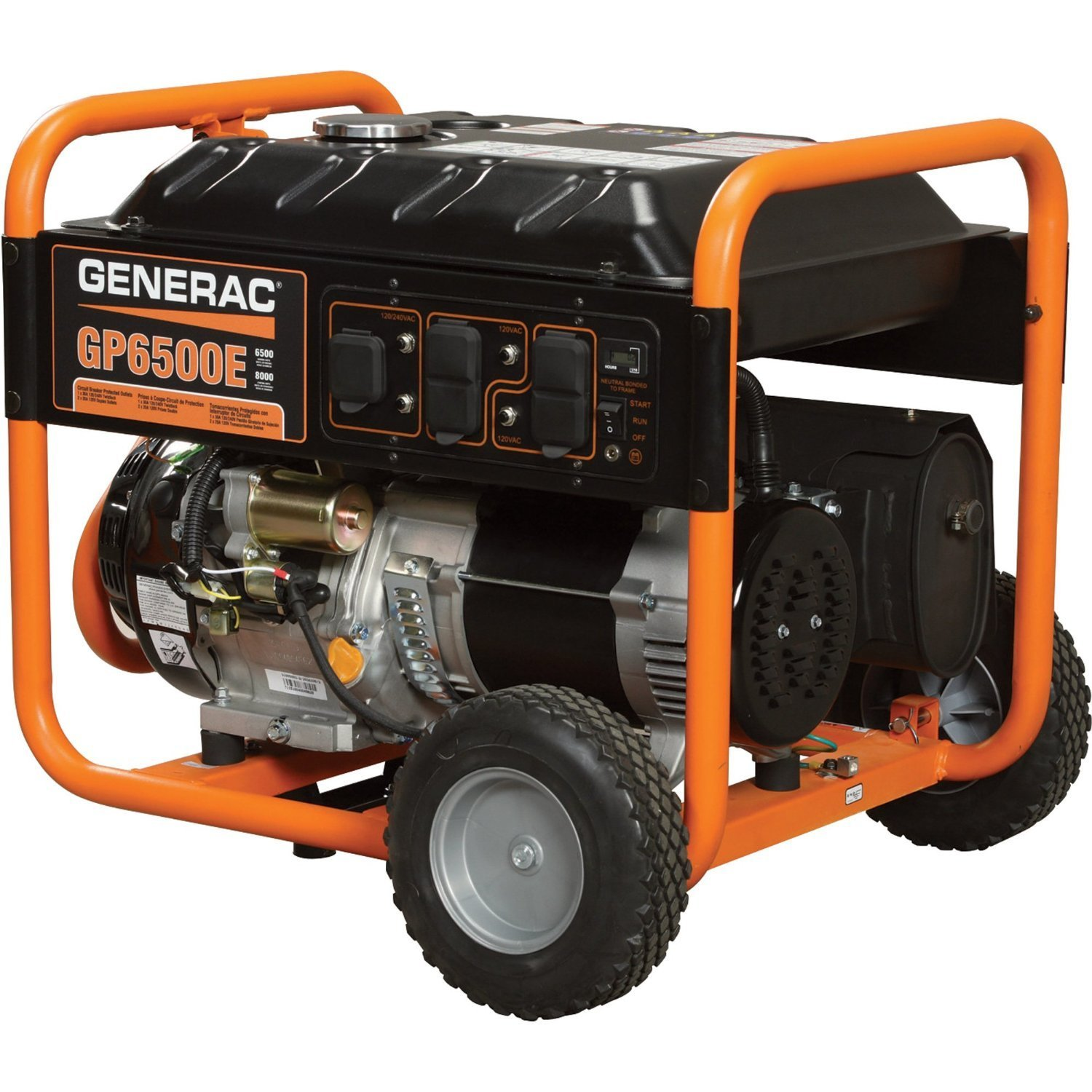 Amazon Generac 5941 GP6500E 6 500 Watt 389cc OHV Portable