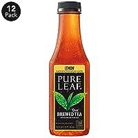 12-Pk Pure Leaf Iced Tea Lemon Sweetened Pack 18.5-Oz can