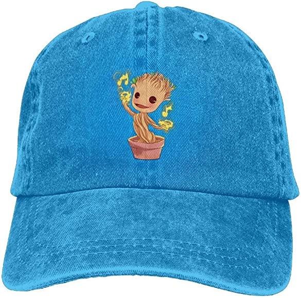 Jocper Dancing Groot Denim Hat Ajustable para Mujer Papá Gorras de ...