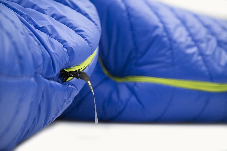 Carinthia G 180 Sleeping Bag M Blue//Lime Ausf/ührung Left 2019 Schlafsack