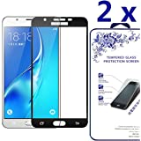 [2 Pack] Samsung Galaxy J7 V/J7 Perx/J7 Sky Pro/J7 2017 Screen Protector, Nacodex Tempered Glass Screen Protector [High Definition] for Samsung J7 V/J7 Perx/J7 Sky Pro/J7 2017 [5.5inch]