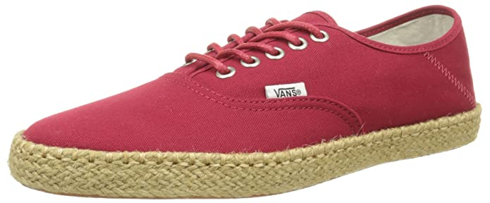 Vans Unisex Authentic Espandrillos Rot (Chili Pepper)