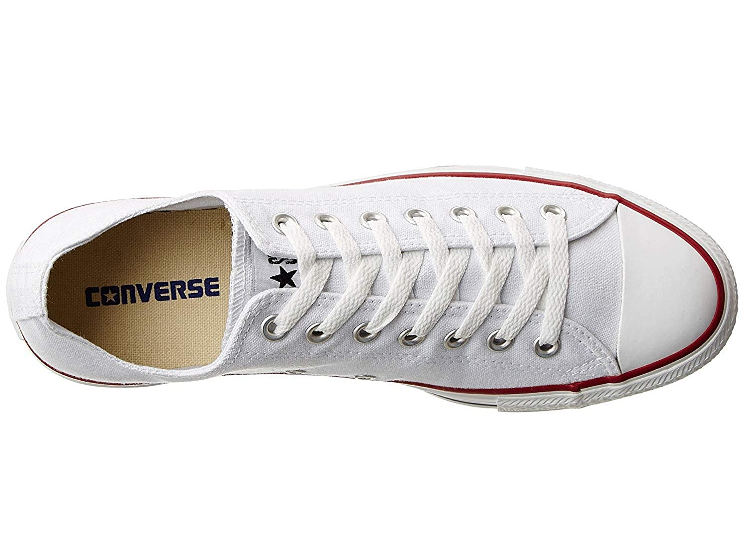 Converse All Opt. Star Ox Schuhe Opt. All Weiß 7591db