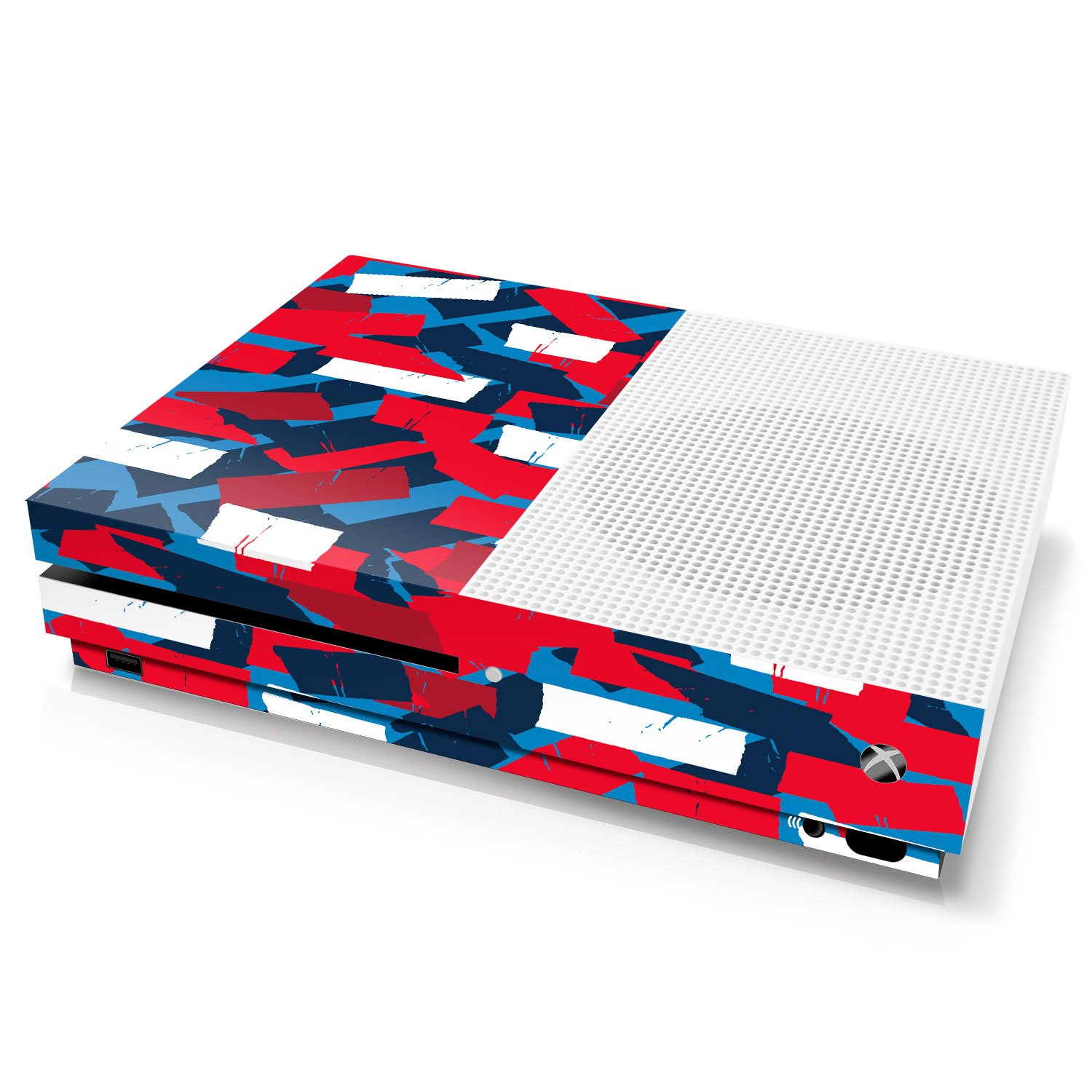 Controller Gear Xbox One S Console Skin - Camouflage: High Fashion Torn Tape - Officially Licensed by Xbox - Xbox One