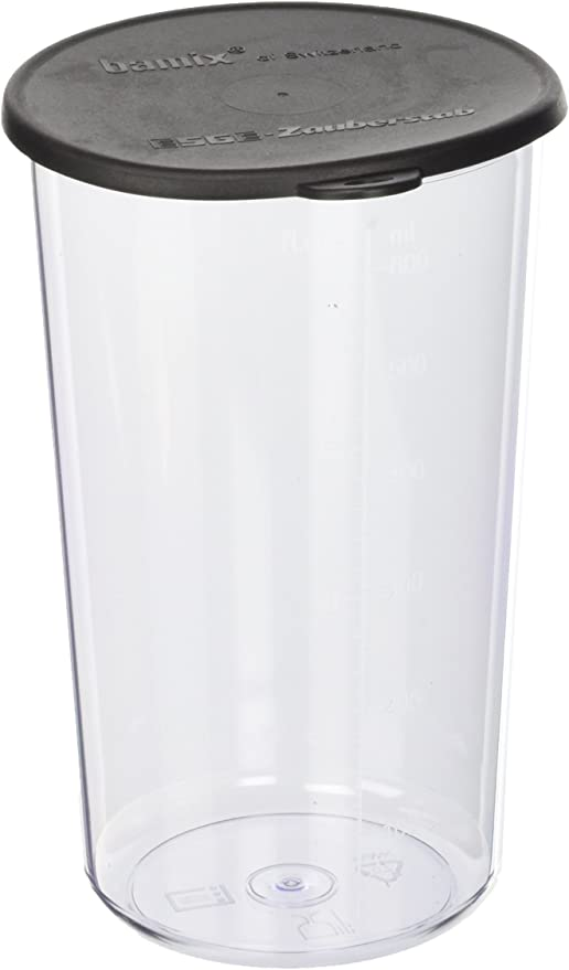 Bamix Beaker, Vaso con Tapa para Licuadora, Material Plastico ...