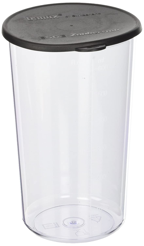 600 ml di materia plastica Bicchiere con Coperchio per luso con il mixer Bamix BX BIC600