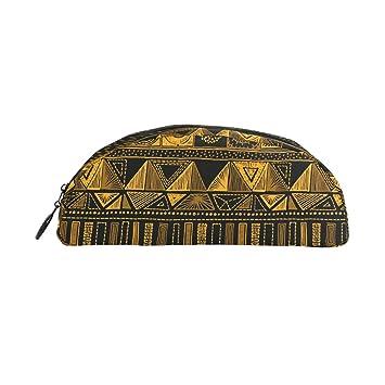 ZZKKO - Estuche geométrico azteca con cremallera para niños ...