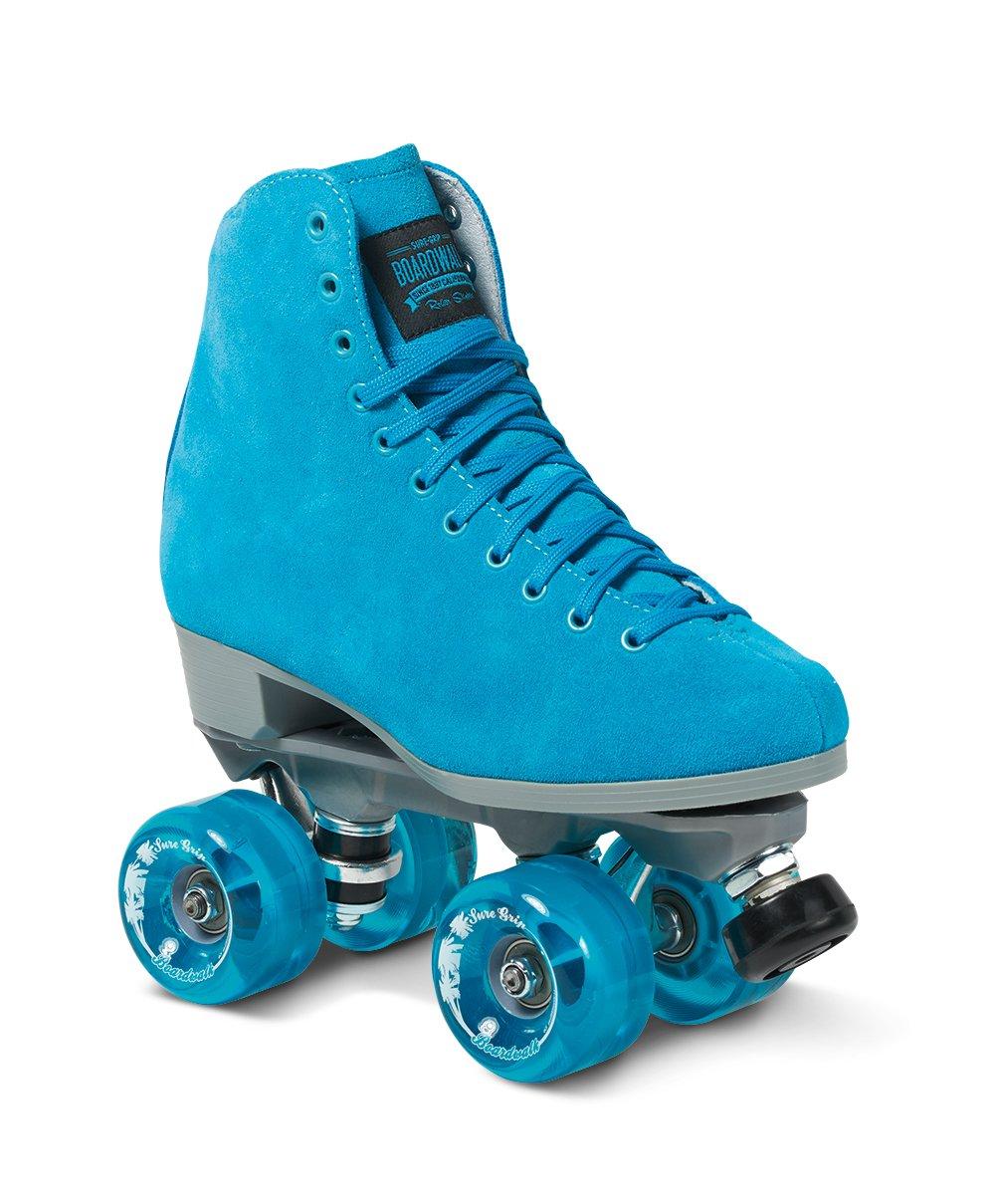 Roller skates blue - Amazon Com Sure Grip Blue Boardwalk Skates Outdoor Sports Outdoors