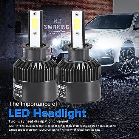 Amazon Com Car Light Tuscom 9006 H3 H11 9005 110w 20000lm Led