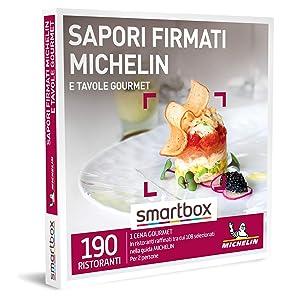 SMARTBOX - Cofanetto regalo coppia - idee regalo originale - Cena exclusiva in ristoranti gourmet