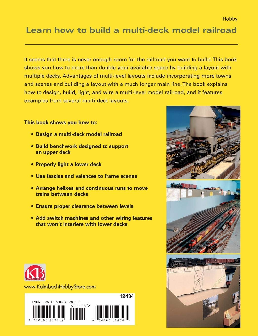 Designing Building Multi Deck Model Railroads Railroader Railroad Dcc Wiring How To Build A Train Layouts G Z S Tony Koester 0884464038515 Books