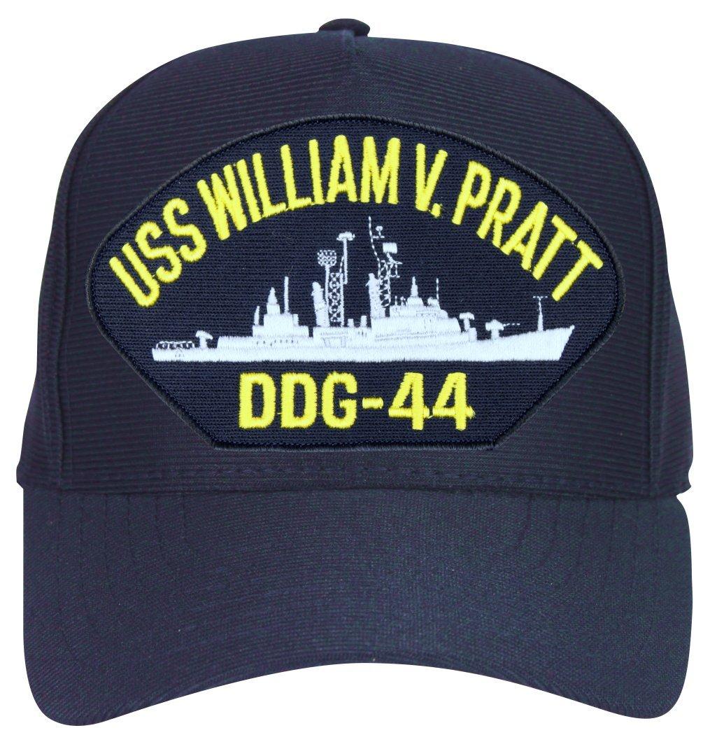 eaa277e0 Amazon.com: MilitaryBest USS William V. Pratt DDG-44 Ship Cap with Custom  Back Text: Sports & Outdoors
