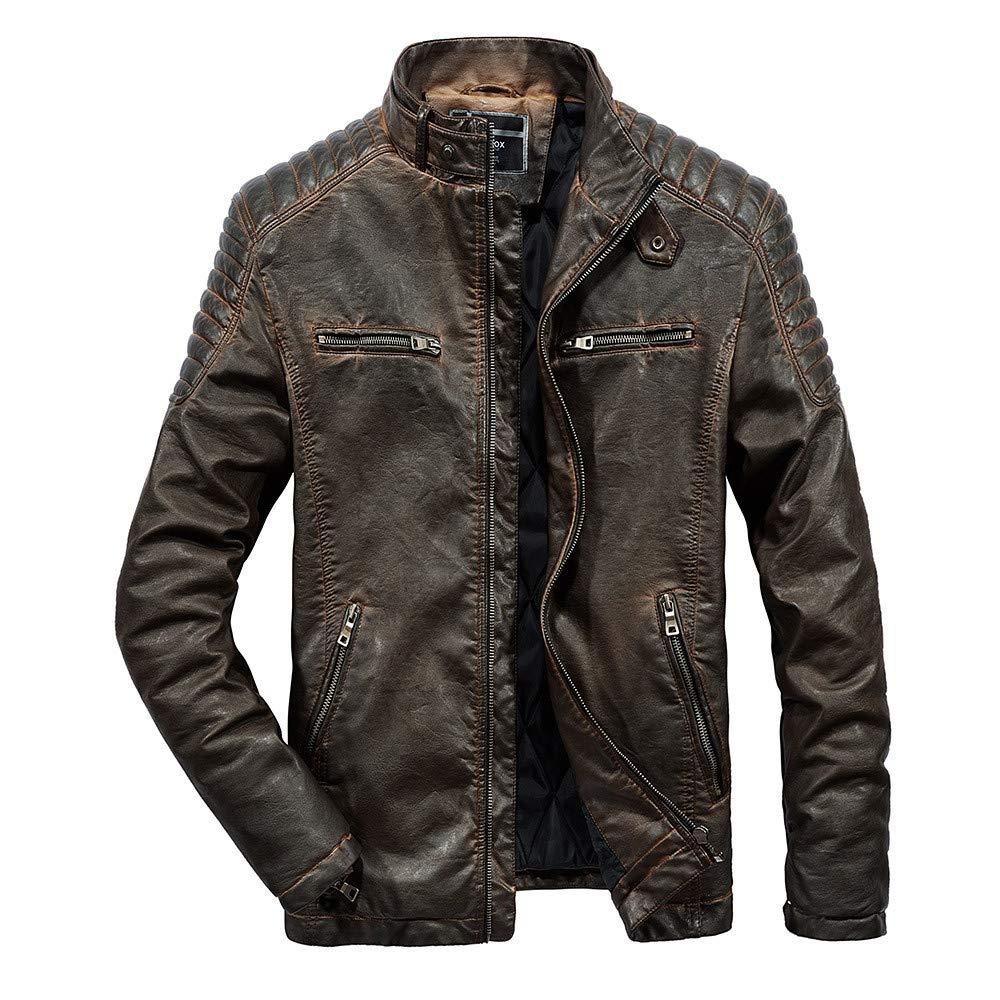 Amazon.com : 2019 Men New Coat, Men Winter Warm Jacket Overcoat Outwear Slim Long Trench Buttons Coat : Sports & Outdoors