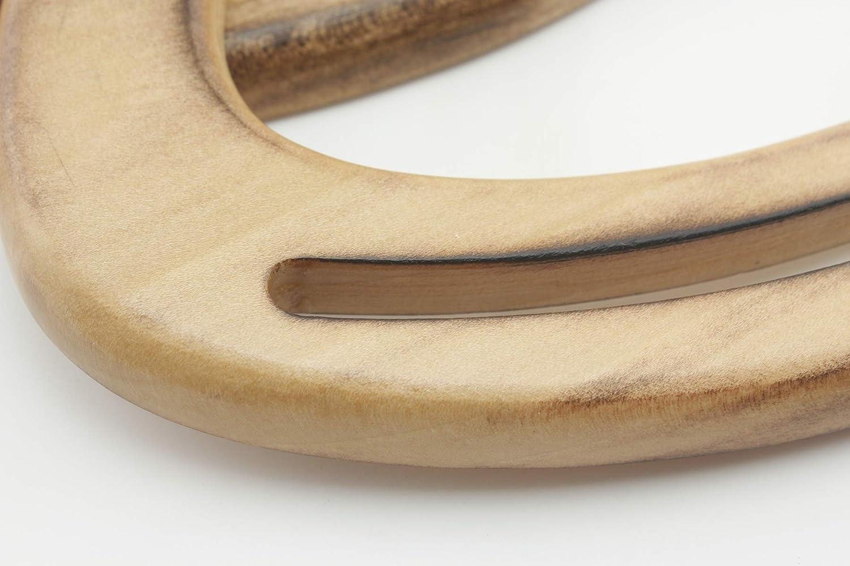Handle Replacement Purse Making per lot M66 Natural 2 Pieces 6 1//2 inch//16.5cm Wooden Purse Handles Purse Handles Handbag Handle for Bag Making a Pair