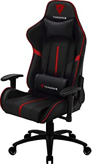 ThunderX3 Spain BC3BR Sillas gaming profesional, Rojo