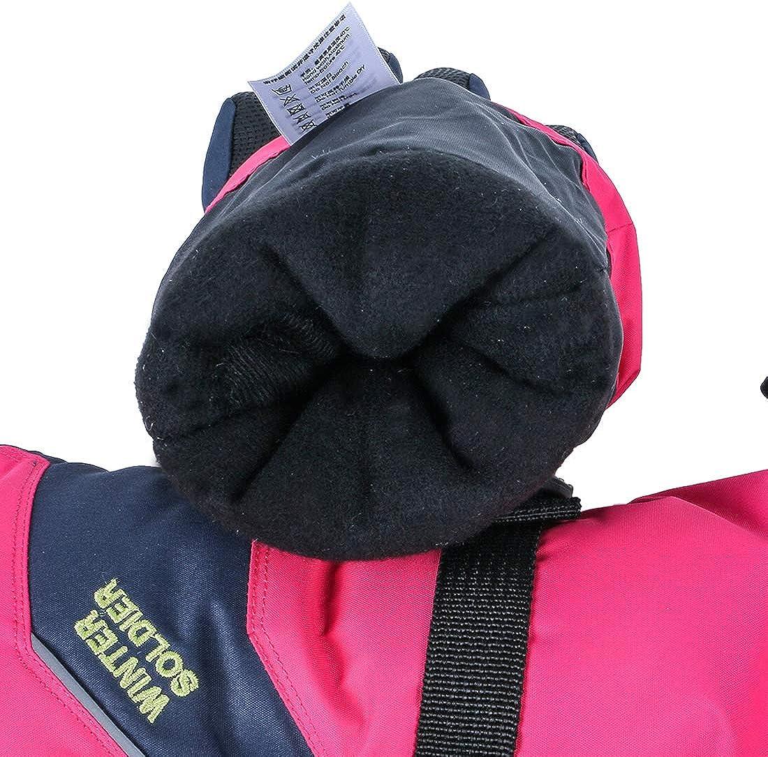 LoveKids Men Women Touchscreen Ski Mittens Cold Weather Waterproof Winter Snow Gloves