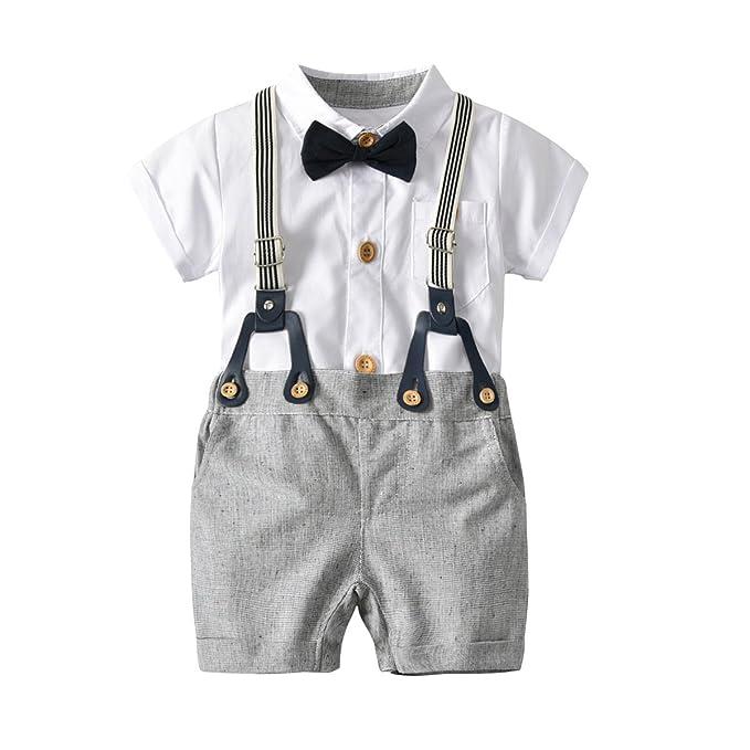 Amazon.com: Hada bebé bebé niños manga corta Caballero ...