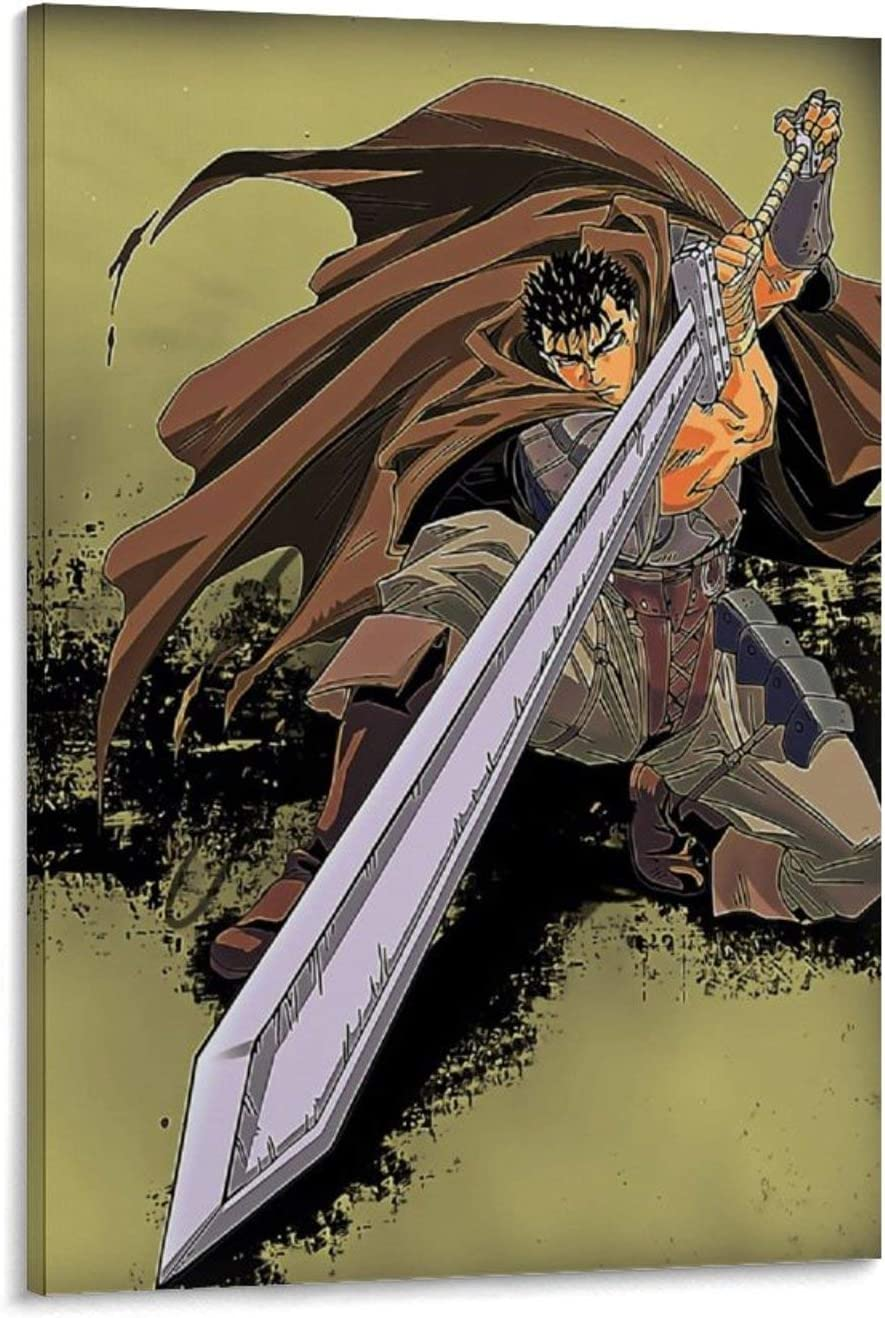 shangfeng Espada Berserk Comics 50 x 75 cm.
