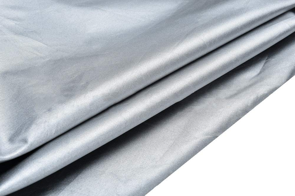 De Plein Air Couvercle Chauffant pour Terrasse avec Fermeture /Éclair Noir Couvertures De Chauffage Anti-poussi/ère Imperm/éables Funda de Muebles 4 Tailles Size : 221x85x48CM