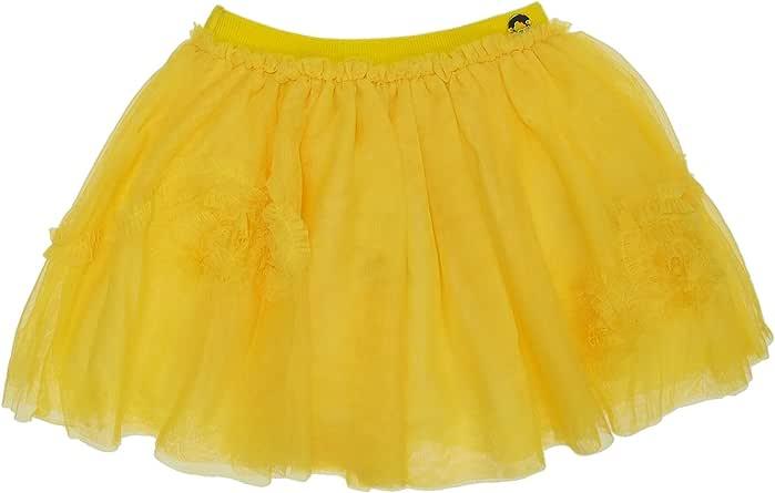Mayoral 28-03902-038 - Falda para niña 9 años Amarillo: Amazon.es ...