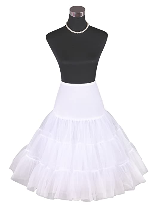 Flora 50er Jahre Kleid Vintage Retro Reifrock Petticoat Unterrock ...
