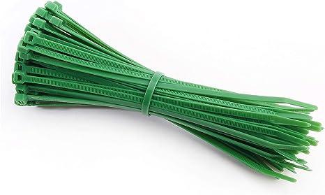 Intervisio Kabelbinder 200mm X 4 8mm Farbe Grün 100 Stück Baumarkt