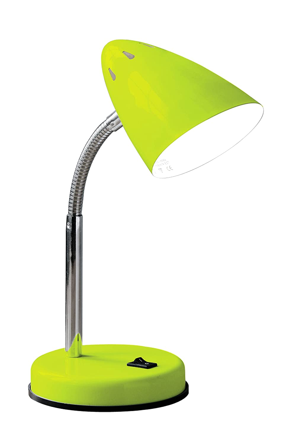 Premier housewares flexi desk lamp lime green amazon lighting mozeypictures Choice Image