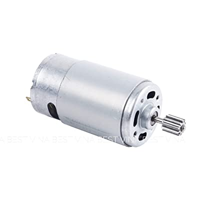 NSD 570 35000RPM Electric Motor RS570 12V High Speed Motor Drive Engine Accessory for Kids Power Wheels Car SUV Children Ride on Toys Modify Replacement Parts: Toys & Games