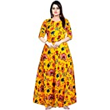 Trendy Fab Rayon Dresses for Women (Multicolour, Free Size)