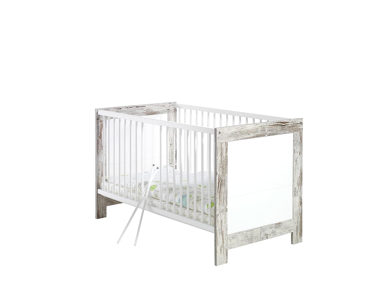 Schardt 047905602 Kombi-Kinderbett Nordic Chic, 70 x 140 cm