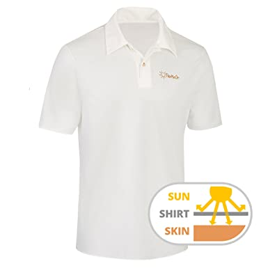 df7e805042fd45 TanMeOn Tan Through Polo Shirt for Men