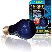 Exo Terra - Lámpara de calor nocturna, 100 W