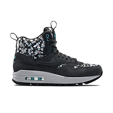 Nike Air Max 1 Mid Sneakerboot LB QS Liberty Art Damen Turnschuhe 706657 Sneaker Schuhe