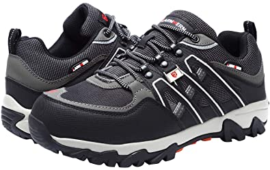 c5d88b2cf52 LARNMERN Mens Steel Toe Work Shoes, LM-1032 Safety Shoes Puncture ...
