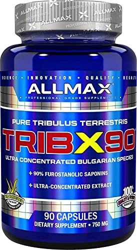 ALLMAX Nutrition Trib X 90, Natural Testosterone Booster, 90 Capsules