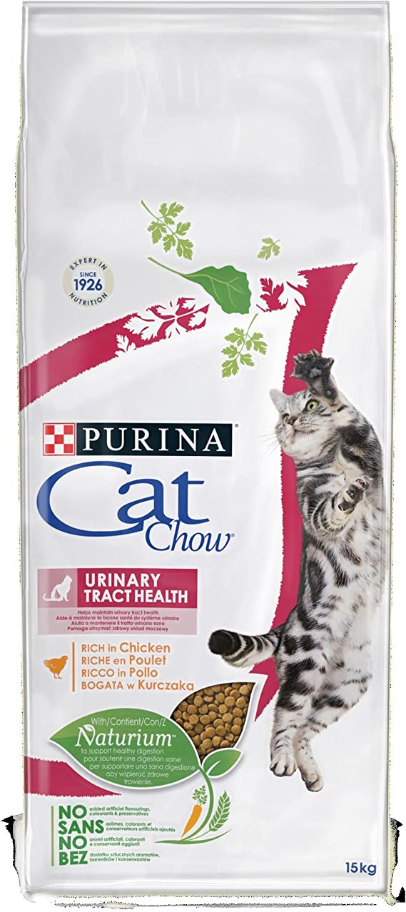 Purina Cat Chow UTH Gato Adulto Pollo 15 Kg: Amazon.es: Productos para mascotas